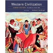 Western Civilization: A Brief...,Spielvogel,9781305633483