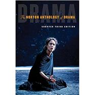 The Norton Anthology of Drama,Gainor, J. Ellen; Garner,...,9780393283501