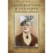 Constructions of Deviance...,Adler, Patricia A.; Adler,...,9781305093546