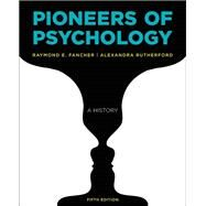 Pioneers of Psychology,Fancher, Raymond E.;...,9780393283549