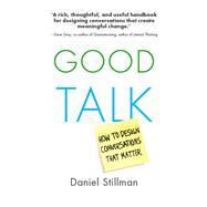 Good Talk by Stillman, Daniel, 9789462763562