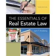 The Essentials of Real Estate...,Slossberg, Lynn T.,9781133693574