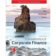 Fundamentals of Corporate...,Ross, Stephen; Westerfield,...,9781260153590