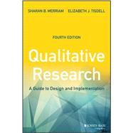 Qualitative Research: A Guide...,Merriam, Sharan B.; Tisdell,...,9781119003618