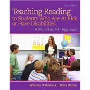 Teaching Reading to Students...,Bursuck, William D.; Damer,...,9780133833645