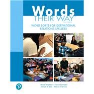 Words Their Way Word Sorts for Derivational Relations Spellers by Templeton, Shane; Johnston, Francine; Bear, Donald R.; Invernizzi, Marcia, 9780134773667