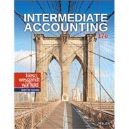 Intermediate Accounting,Kieso, Donald E.; Weygandt,...,9781119503668