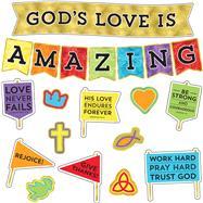 God's Love Is Amazing Bulletin Board Set by Carson-Dellosa Publishing Company, Inc., 9781483853680