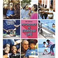 Psychology in Everyday Life,Myers, David G.; Dewall, C....,9781319133726