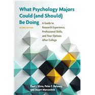 What Psychology Majors Could...,Silvia, Paul J.; Delaney,...,9781433823794