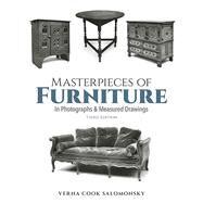 Masterpieces of Furniture in...,Salomonsky, Verna Cook,9780486213811