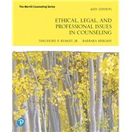 Ethical, Legal, and...,Remley, Theodore P., Jr.;...,9780135183816