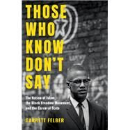 Those Who Know Don't Say by Felber, Garrett, 9781469653822
