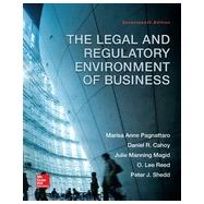 The Legal and Regulatory...,Pagnattaro, Marisa; Cahoy,...,9780078023859