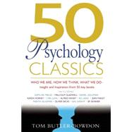 50 Psychology Classics Who We...,Butler-Bowdon, Tom,9781857883862