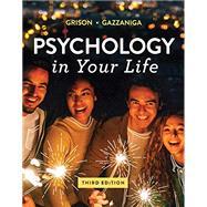 Psychology in Your Life...,Grison, Sarah; Gazzaniga,...,9780393673913