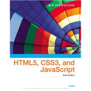 New Perspectives on HTML,...,Carey, Patrick M.,9781305503922
