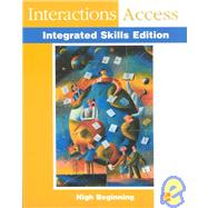 Interactions Integrated Skills - Interactions Access (Beginning) - Student Book by BERMAN, 9780072313932