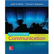 Intercultural Communication...,Martin, Judith; Nakayama,...,9780073523934
