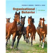 Organizational Behavior,Robbins, Stephen; Judge,...,9780134103983