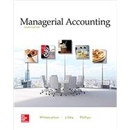 Loose-Leaf for Managerial...,Whitecotton, Stacey; Libby,...,9781260413984