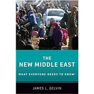 The New Middle East: What Everyone Needs to Know® by Gelvin, James L., 9780190653989