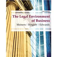 The Legal Environment of...,Meiners, Roger E.; Ringleb,...,9780538473996
