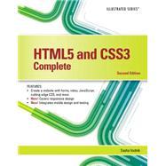HTML5 and CSS3, Illustrated...,Vodnik, Sasha,9781305394049