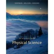 An Introduction to Physical...,Shipman, James; Wilson, Jerry...,9781133104094