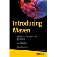 Introducing Maven by Varanasi, Balaji, 9781484254097