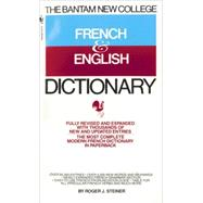 The Bantam New College French...,STEINER, ROGER,9780553274110
