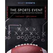 The Sports Event Management...,Supovitz, Frank,9781118244111