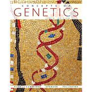 Concepts of Genetics,Klug, William S.; Cummings,...,9780321724120