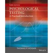 Psychological Testing,Hogan, Thomas P.,9781118554128