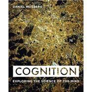 Cognition,Reisberg, Daniel,9780393624137