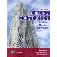 Building Construction...,Mehta, Madan L, Ph.D.;...,9780134454177