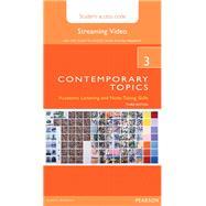Contemporary Topics 3 Streaming Video Access Code Card by Beglar, David; Murray, Neil, 9780133994179