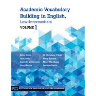 Academic Vocabulary Building...,Davis, Betsy; Juffs, Alan;...,9780472034215
