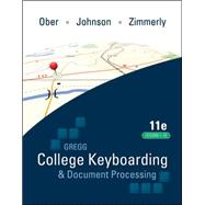 Gregg College Keyboarding &...,Ober, Scot; Johnson, Jack;...,9780077344221