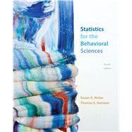 Statistics for the Behavioral...,Nolan, Susan A.; Heinzen,...,9781319014223