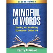 Mindful of Words,Ganske, Kathy,9781462544271