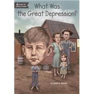 What Was the Great Depression? by Pascal, Janet B.; Putra, Dede, 9780448484273