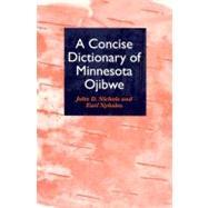 A Concise Dictionary of...,Nichols, John D.,9780816624287