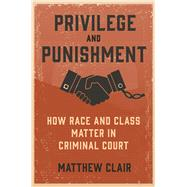Privilege and Punishment by Matthew Clair, 9780691194332