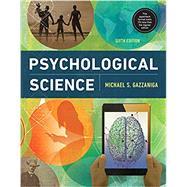 Psychological Science with...,Gazzaniga, Michael,9780393674385