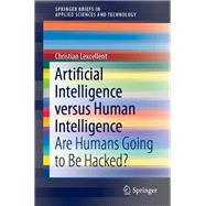 Artificial Intelligence Versus Human Intelligence by Lexcellent, Christian, 9783030214432