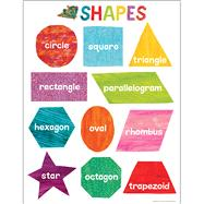 World of Eric Carle Shapes Chart by Carson Dellosa Education; World of Eric Carle, 9781483854434