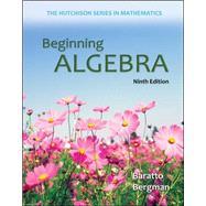 Beginning Algebra,Baratto, Stefan; Bergman,...,9780073384450