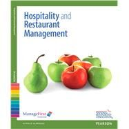ManageFirst Hospitality and...,National Restaurant...,9780132724470