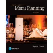 Foundations of Menu Planning,Traster, Daniel,9780134484471